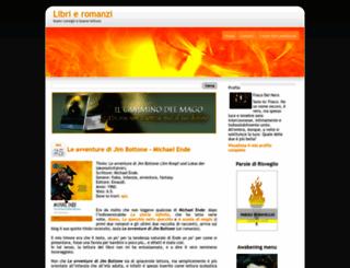 libriromanzi.blogspot.it screenshot