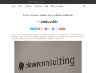 libro.cleverconsulting.net screenshot