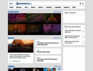 librodellefacce.com screenshot