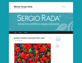 libroelmetodosergiorada.wordpress.com screenshot