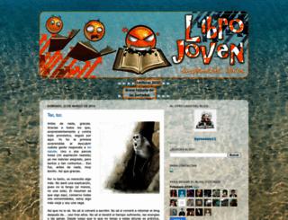 librojoven.blogspot.com screenshot