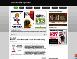 librosdemanagement.com screenshot