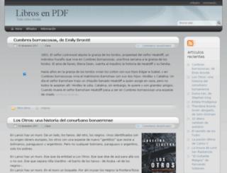 librosenpdf.crearblog.com screenshot