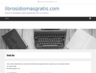 librosidiomasgratis.com screenshot