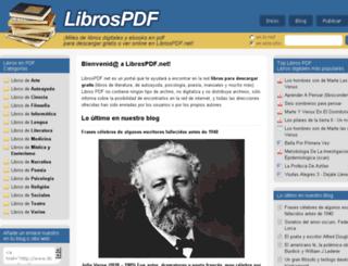 librospdf.net screenshot
