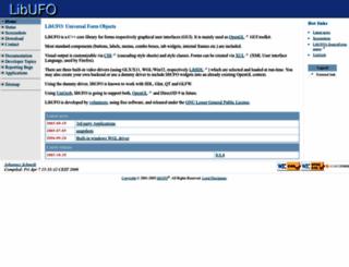 libufo.sourceforge.net screenshot