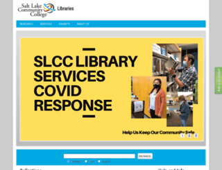 libweb.slcc.edu screenshot