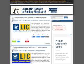 lic-merchant.net screenshot