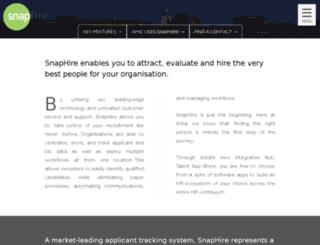 lic.snaphire.com screenshot