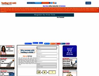 licaao.testbag.com screenshot