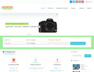 licantoo.com screenshot