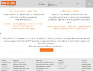 license2.quickheal.com screenshot