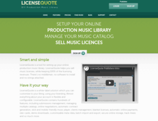 licensequote.com screenshot