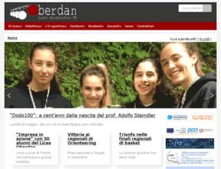 liceo-oberdan.gov.it screenshot