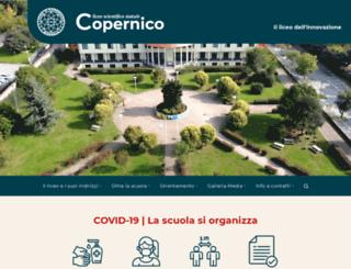 liceocopernico.brescia.it screenshot