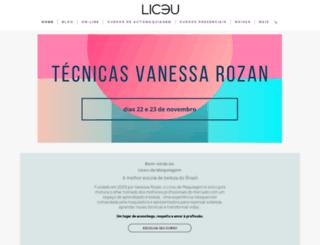 liceudemaquiagem.com.br screenshot