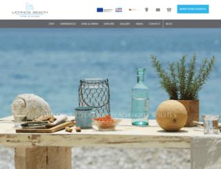 lichnosbeach.gr screenshot