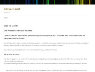 licht-montage.ch screenshot