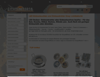lichtfaktor24.de screenshot
