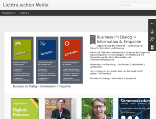lichtrauschen.com screenshot