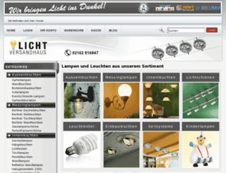 lichtversandhaus.de screenshot