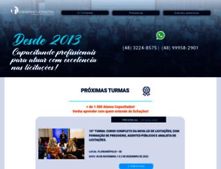 liciexpress.com.br screenshot