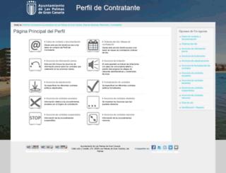 licitacion.laspalmasgc.es screenshot