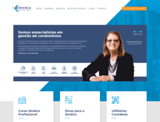 liderancacond.com.br screenshot
