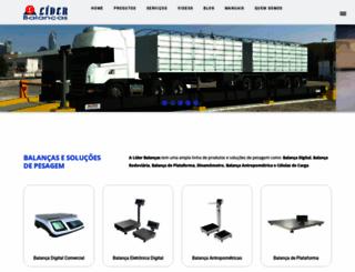 liderbalancas.com.br screenshot
