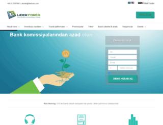 liderforex.com screenshot