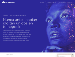 liderlogo.es screenshot