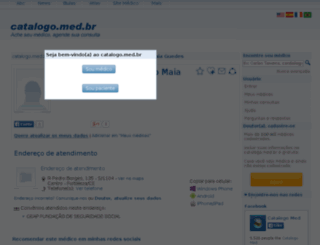 lidia-rebeca-ribeiro-maia-guedes.catalogo.med.br screenshot