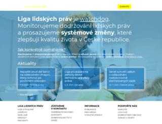 lidiligy.cz screenshot