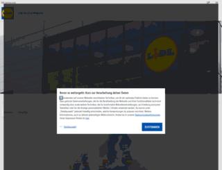 lidl-service.de screenshot