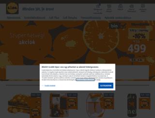 lidl-utazas.hu screenshot