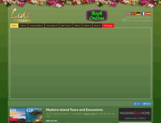 lido-tours.com screenshot