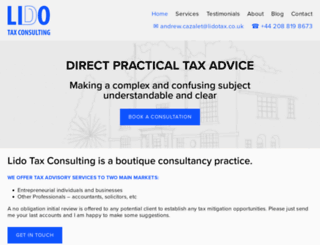 lidotax.co.uk screenshot