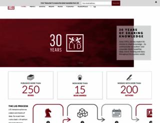 lidpublishing.com screenshot