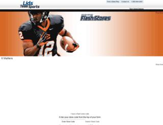lidsteamsports.com screenshot