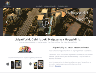 lidyaworld.com screenshot