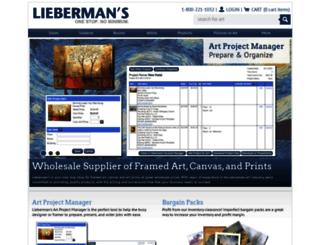 liebermans.net screenshot