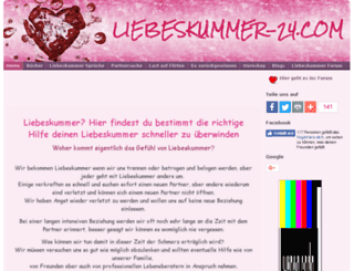 liebeskummer-24.com screenshot
