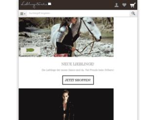 lieblingstasche.shopgate.com screenshot