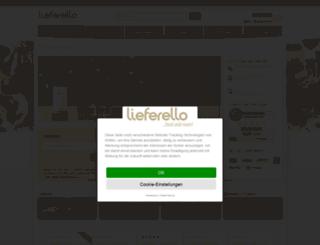 lieferello.de screenshot