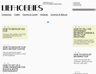 liefhobbies.com screenshot