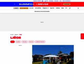 liege.lameuse.be screenshot