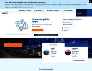 liegeairport.com screenshot
