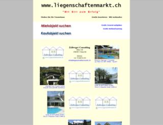 liegenschaftenmarkt.ch screenshot