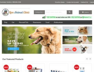 lienanimal.vetsfirstchoice.com screenshot