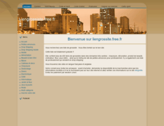 liengrossiste.free.fr screenshot